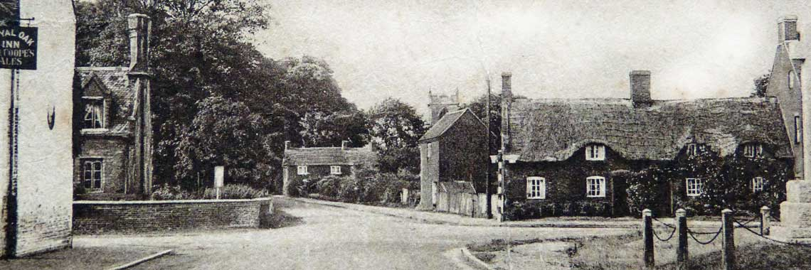 The crossroads in the late 1920s