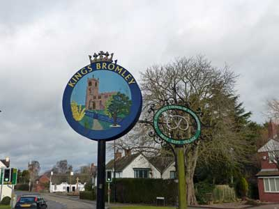 Kings Bromley village sign