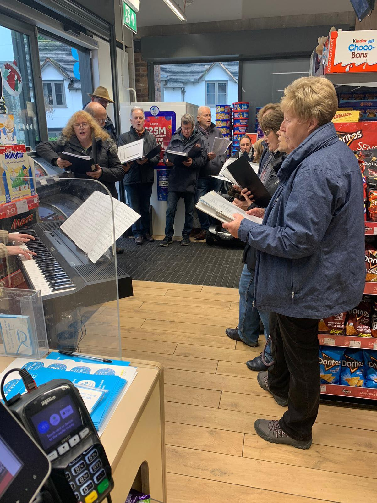 Choir at the Co Op